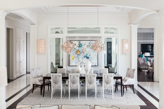 Royal Palm transitional-dining-room