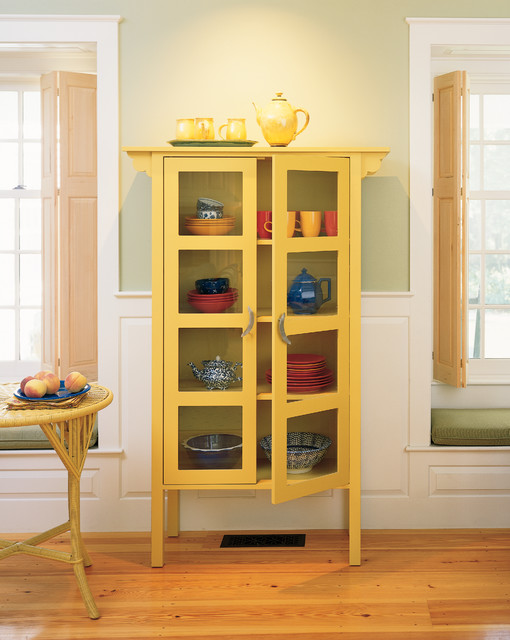 Dining Room Glass Cabinet