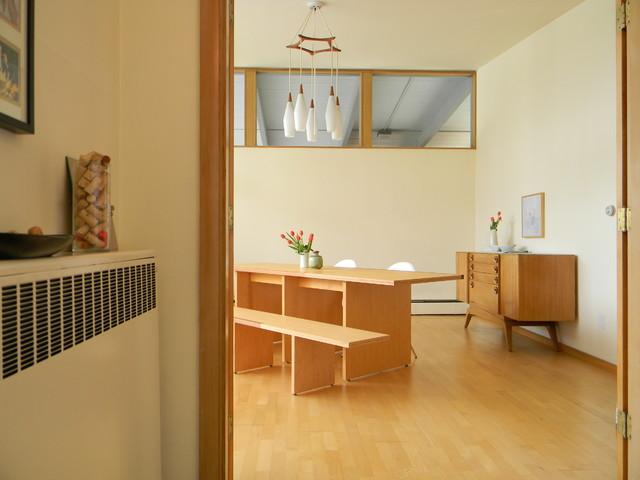 modern dining room by Kimberley Bryan