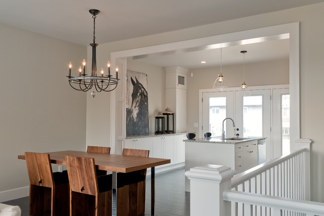 rustic chic bungalow  contemporary  dining room  other  by, Lighting ideas