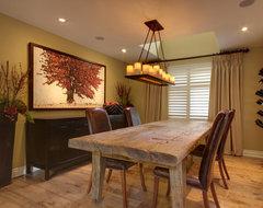Aspen Way rustic-dining-room