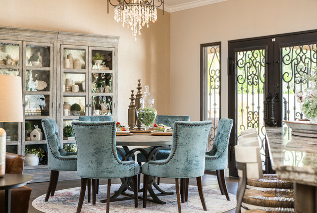 Rustic Glam Haven Transitional