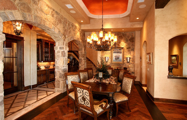 Rustic Hill Country Elegance, By Zbranek U0026 Holt Custom Homes Austin Texas  Rustic Dining