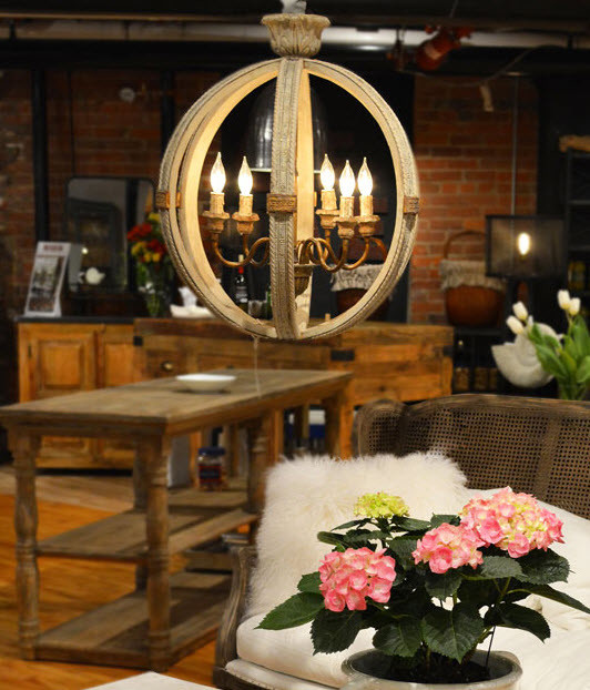 Farmhouse Chandeliers For Dining Room: Rustic Luxe Lighting & Chandeliers