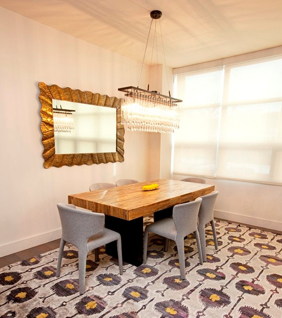 Rustic Modern Dining Room Rustic Dining Room New York By Woven Concepts