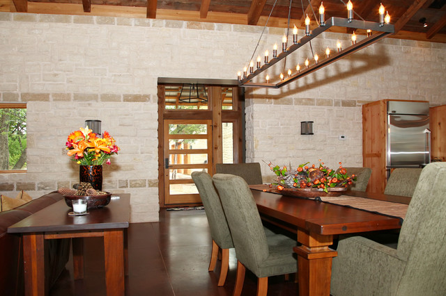 Rustic open dining area for Rustic dining area