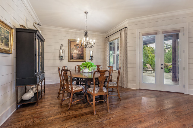 rustic ramble cottage dining room other by dillard jones