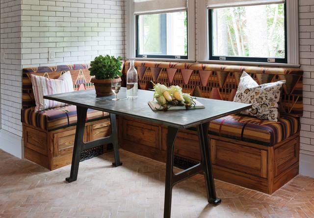 Rustic Reclaimed Chestnut rustic-dining-room