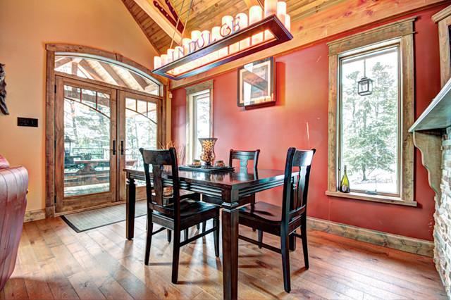 Rustik Kabin contemporary-dining-room