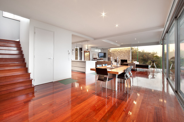 Rye Refurbishment and Extension contemporary-dining-room