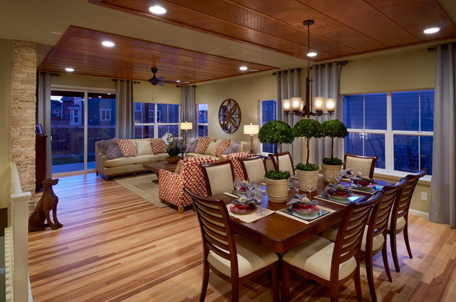 Ryland Homes Pioneer Ridge Modesl Traditional Dining Room Denver By Trio Environments