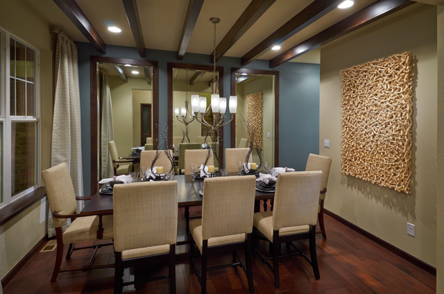 Ryland Homes Pioneer Ridge Modesl Contemporary Dining