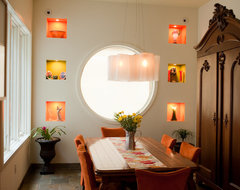 City Spaces eclectic-dining-room