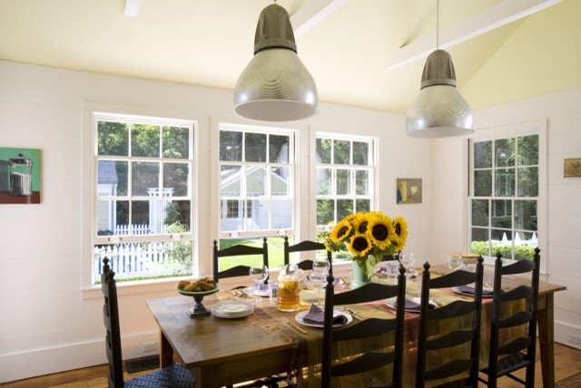 Sag Harbor Weekend House eclectic-dining-room