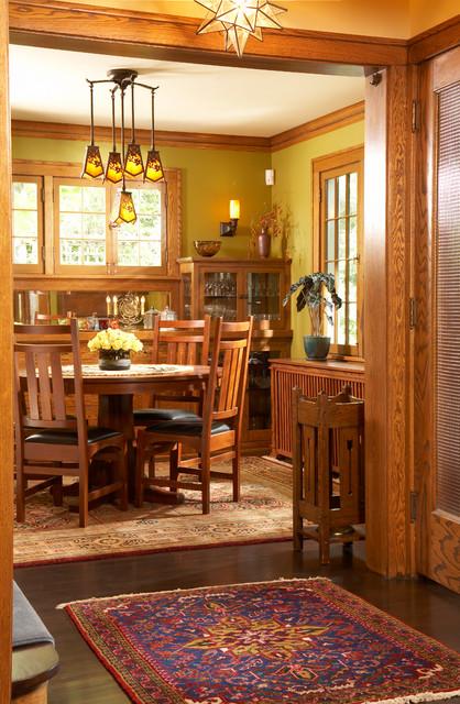 saint paul craftsman craftsman dining room minneapolis by