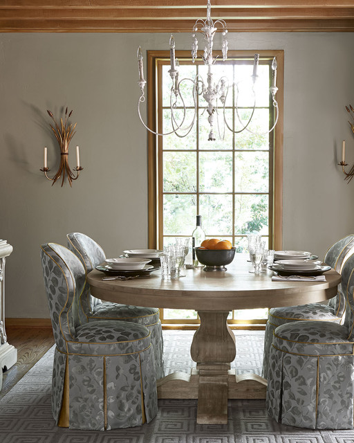 Salento 6 Light Chandelier Transitional Dining Room