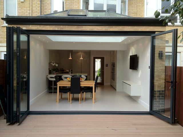 samuel gray gardens extension contemporary dining room On dining room extension