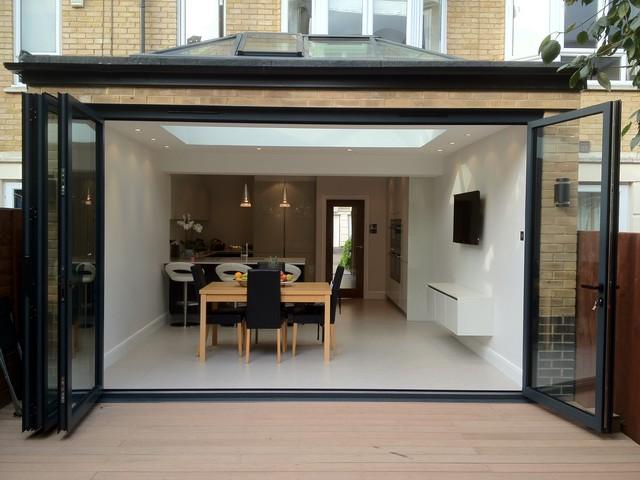 Samuel gray gardens extension contemporary dining room for Dining room extension ideas