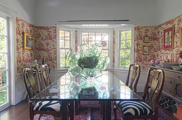 eclectic dining room by Alex Amend Photography