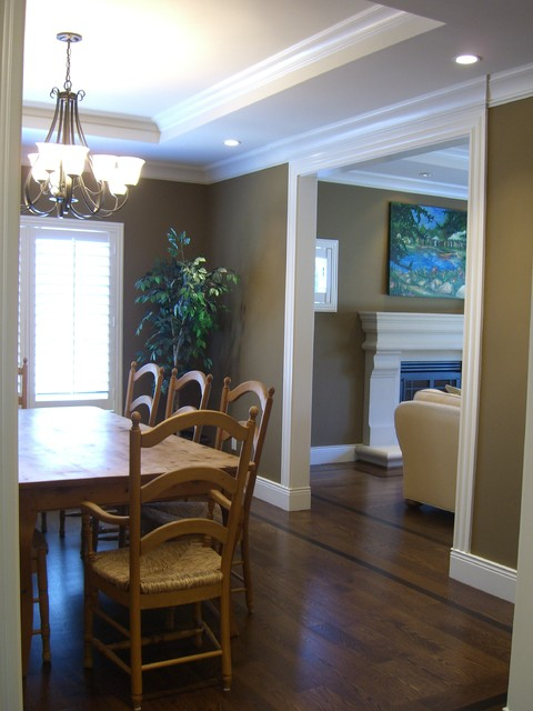 San Carlos Renovation!  Great Function and Style for Family! traditional-dining-room