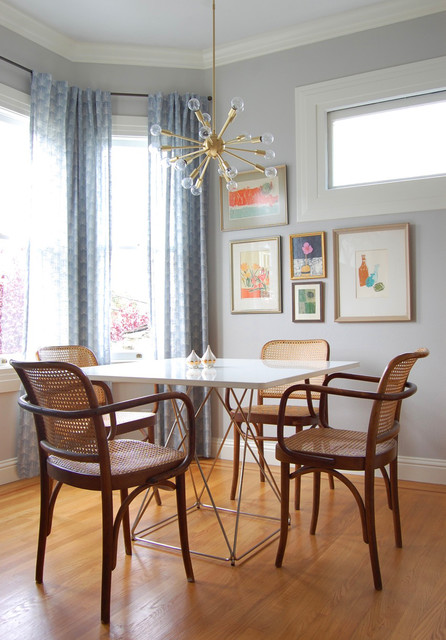 San Francisco Charmer eclectic-dining-room