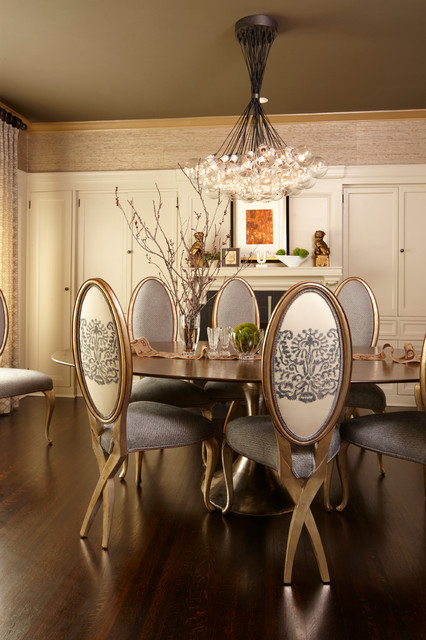 San francisco edwardian home traditional dining room for Edwardian dining room ideas
