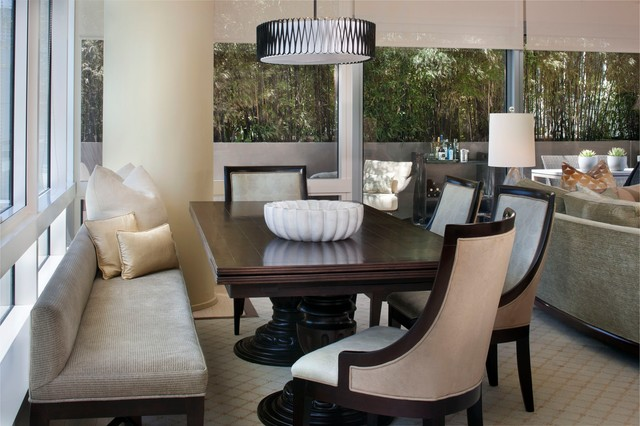 San Francisco Luxury High Rise contemporary-dining-room
