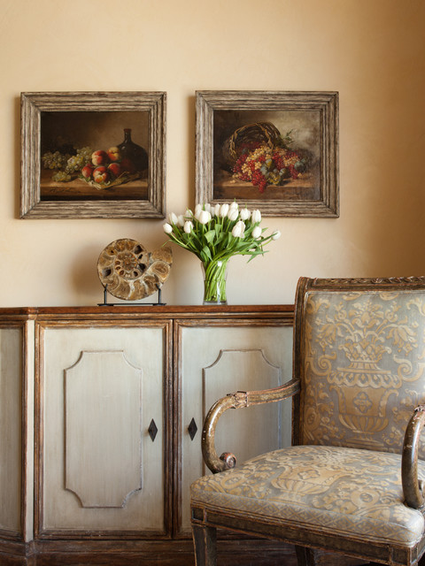 San Francisco Spanish Colonial Revival traditional-dining-room