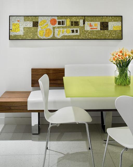 San Marino Island House modern-dining-room