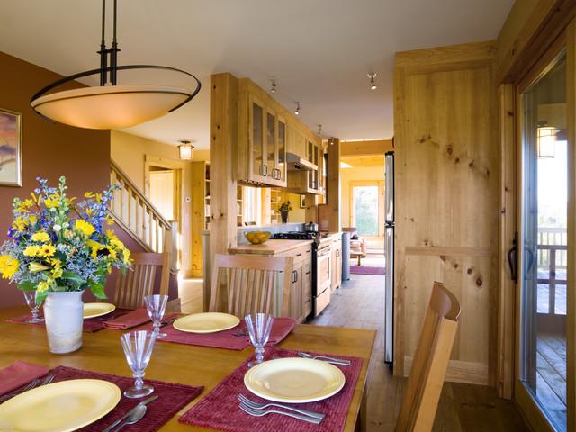 Sanctuary rustic-dining-room