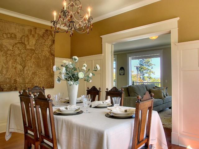 Viewridge Craftsman Spec traditional-dining-room