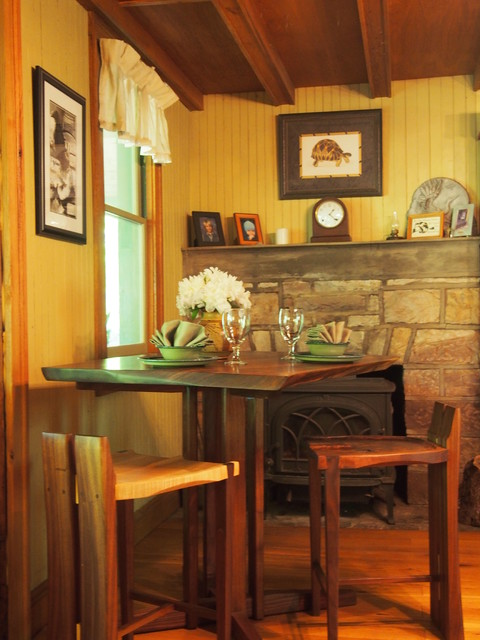 sans souci cottage rustic dining room other metro by j c