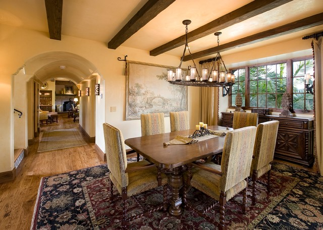 Santa Barbara Hope - Mediterranean - Dining Room - Santa Barbara ...