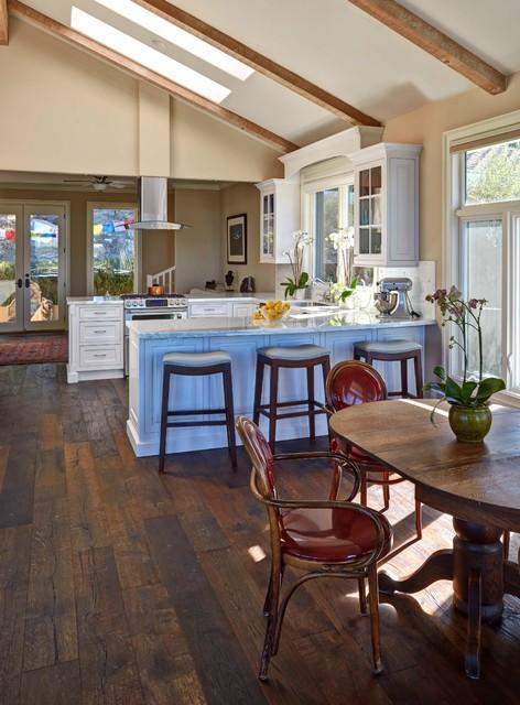 Santa Cruz Kitchen Transitional Dining Room San