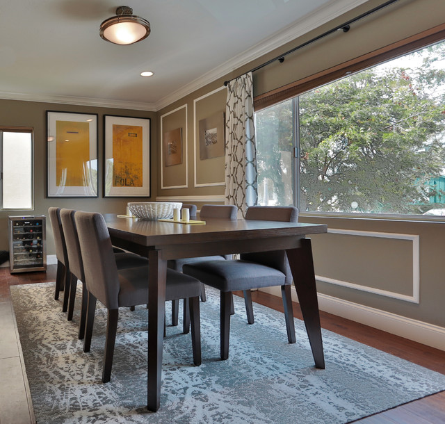 santa monica living and dining room