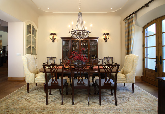 Saratoga European French Inspired – Dining Room in French