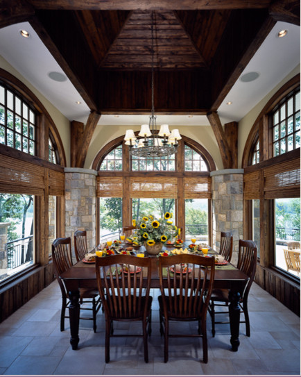 Saratoga Lake House traditional-dining-room