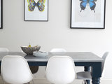 transitional dining room Kitchen of the Week: A Fresh Take on Classic Shaker Style (8 photos)