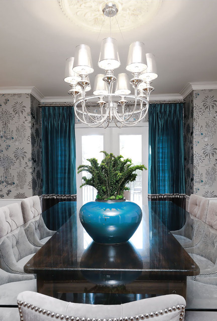 Interior Designers. Sask Cres Dining Room transitional-dining-room