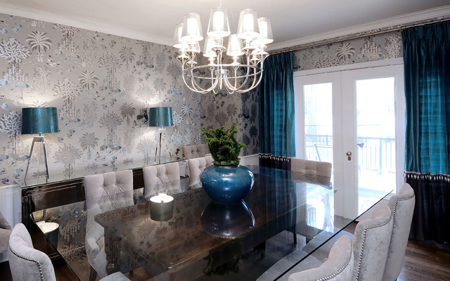 sask cres dining room - transitional - dining room - other -