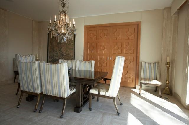 Sausalito Residence 1 traditional-dining-room