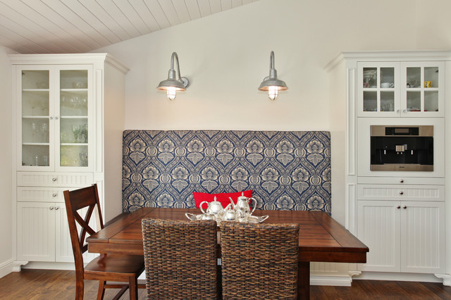 Bon Inspiration For A Timeless Dark Wood Floor Kitchen/dining Room Combo  Remodel In San Diego. Email Save. Savvy Interiors