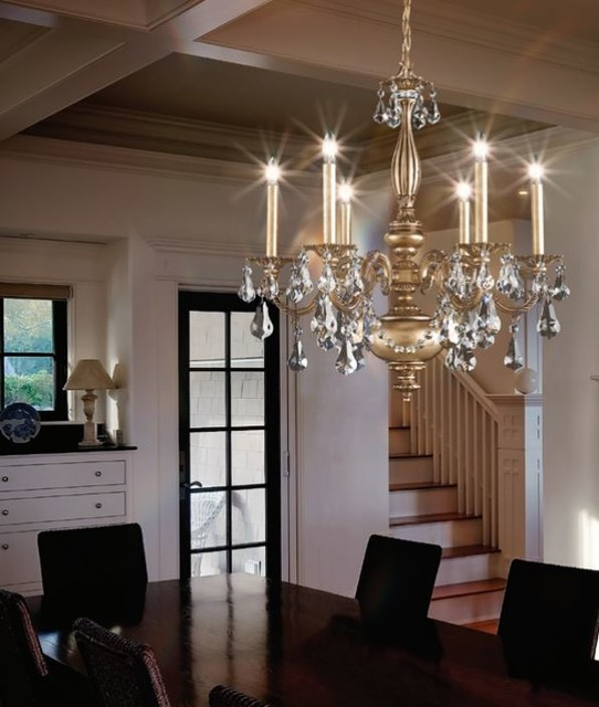Dining Room Chandeliers Traditional: Schonbek Lighting AL6516N-83S Alea Florentine Bronze 6