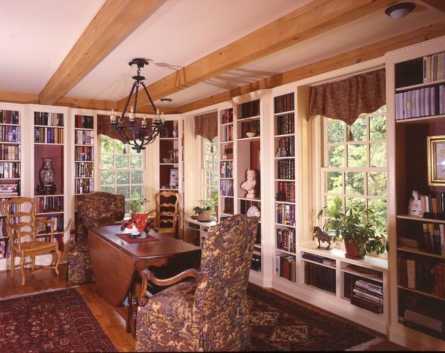 Scottsville Tuscan Cottage mediterranean-dining-room