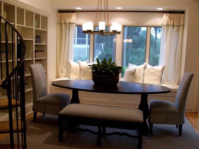 Seabrook Island contemporary-dining-room