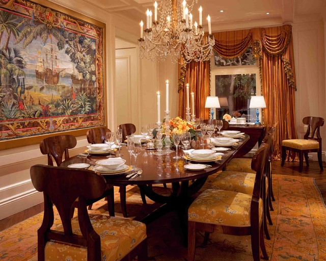 Seacliff Southern Traditional Dining Room