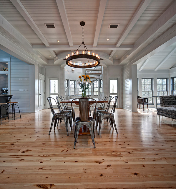 Seaside Residence Beach Style Dining Room Other