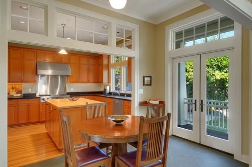 transom windows provide additional light