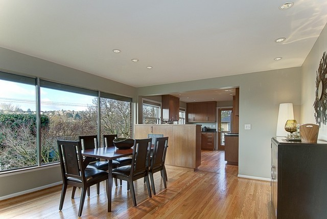 Seattle MCM Staged Home contemporary-dining-room
