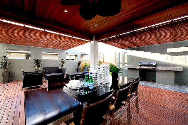 Seavue QLD - contemporary - dining room - brisbane - by Orbit Homes